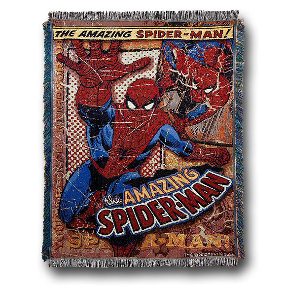 SpiderMan Classic Comic Rug
