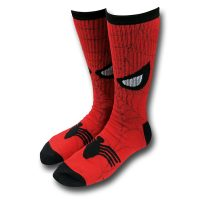 Spider-Man Face Crew Socks