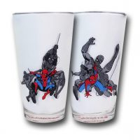 SpiderMan In Action Pint Glasses