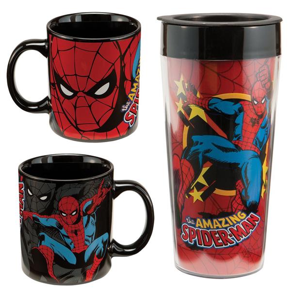 SpiderMan Mug Set