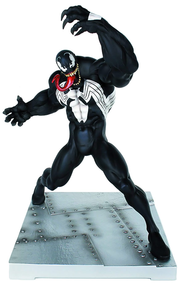 SpiderMan Venom Bookend Statue