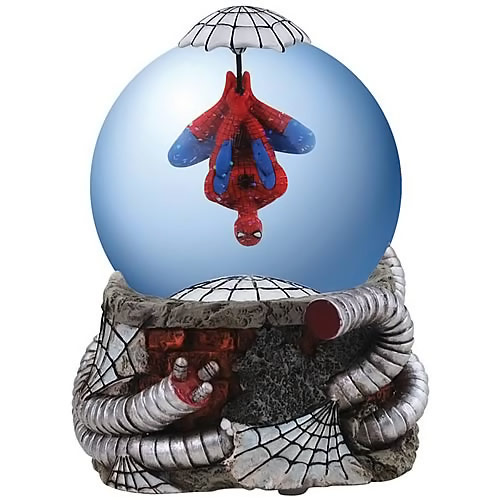 SpiderMan Water Globe