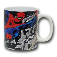 SpiderMan Window Rescue Ceramic Mug