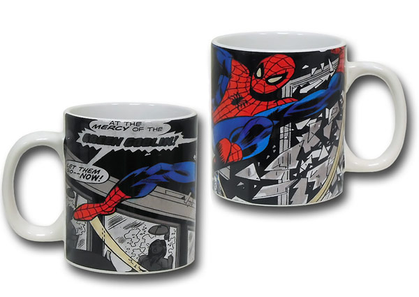 SpiderMan Window Rescue Mug