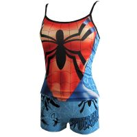 Spidergirl Juniors Womens Cami and Panty Set