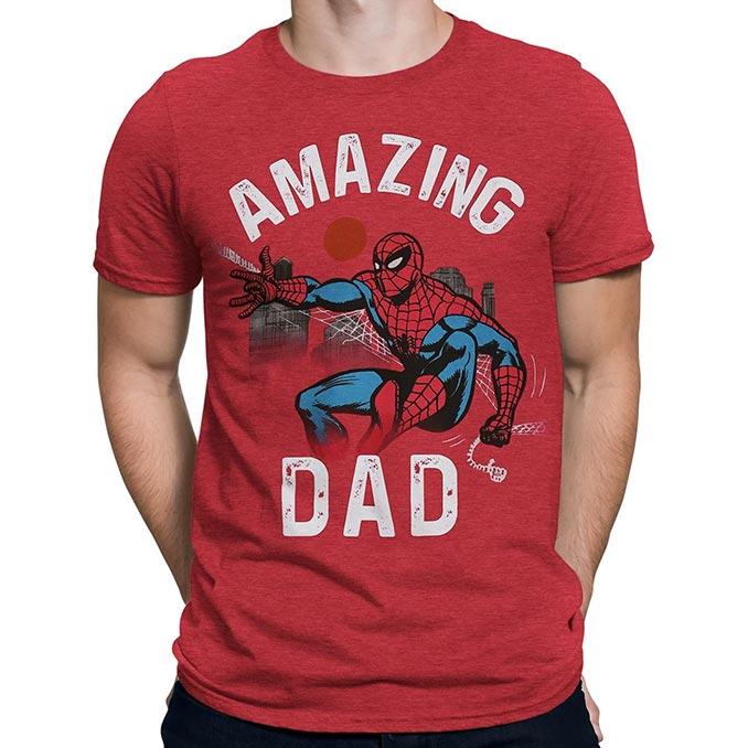 Spiderman Amazing Dad T-Shirt