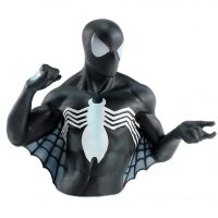 Spiderman Black Suit Bust Coin Bank