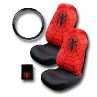 Spiderman Car Accessory Combo Pack