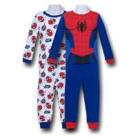 Spiderman Costume Kids Pajamas