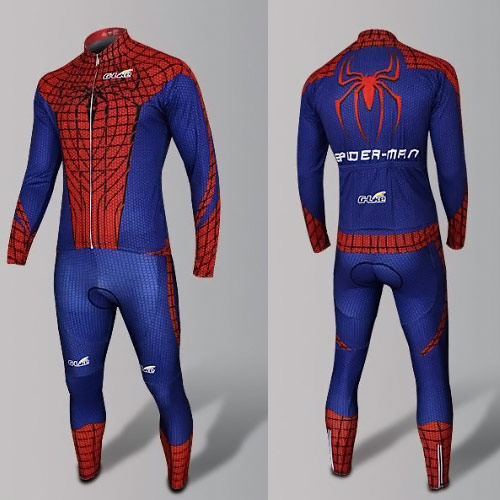 spiderman cycling skinsuit costume