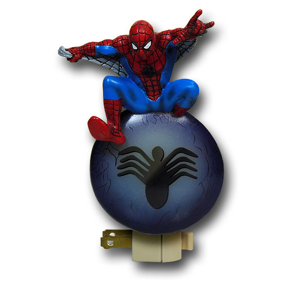 Spiderman Figural Night Light