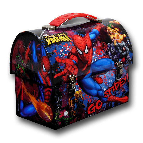 Spiderman Go Spidey Domed Lunchbox