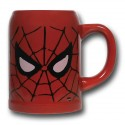 Spiderman Mask Ceramic Stein