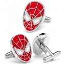 Spiderman Mask Cufflinks