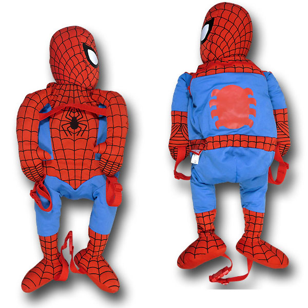 Spiderman Plush Backpack Buddy