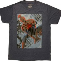 Spiderman Spider Logo Overlay T-Shirt