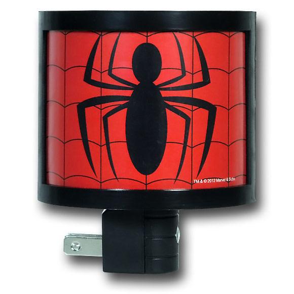 Spiderman Symbol Night Light