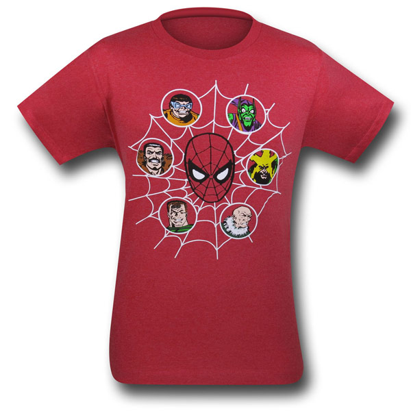 Spiderman Villains Shirt