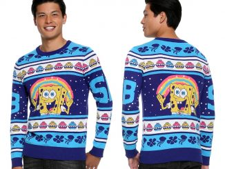 SpongeBob SquarePants Krabby Patty Christmas Sweater