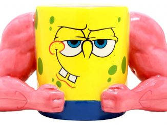 SpongeBob SquarePants Muscle Mug