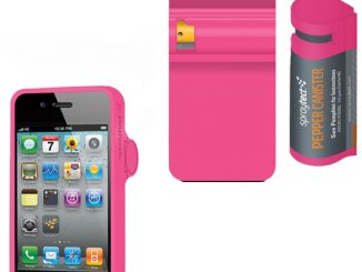 Spraytect Pepper Spray iPhone Case