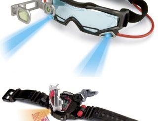 Spy Gear Goggles and Spy Watch