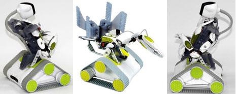 Spykee Robot Moon Vehicle