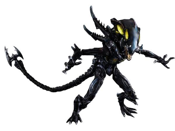 Square Enix Play Arts Kai-Spitter Alien Action Figure