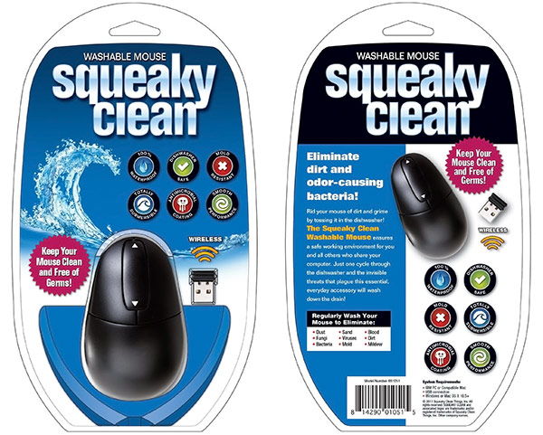 Squeaky Clean Washable Mouse