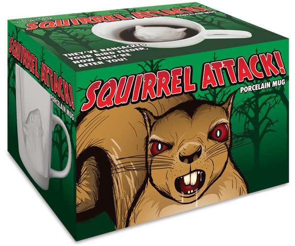 Squirrel Attack Mug