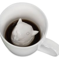Squirrel Attack Porcelain Mug