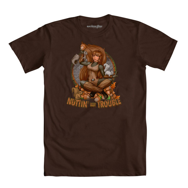 Squirrel Girl Nuttin But Trouble T-Shirt