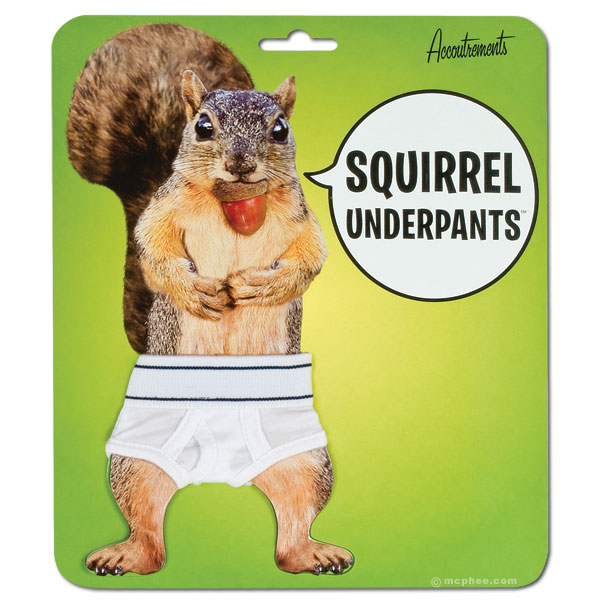 Squirrel Tighty-Whities Underpants