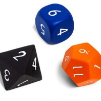 Squishy 7pc Polyhedral Dice Set