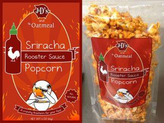 Sriracha Hot Popcorn