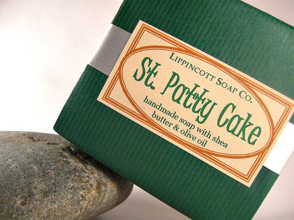 St. Patrick's Day Soap - Cold Process Soap