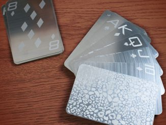Stainless Steel Playing Cards