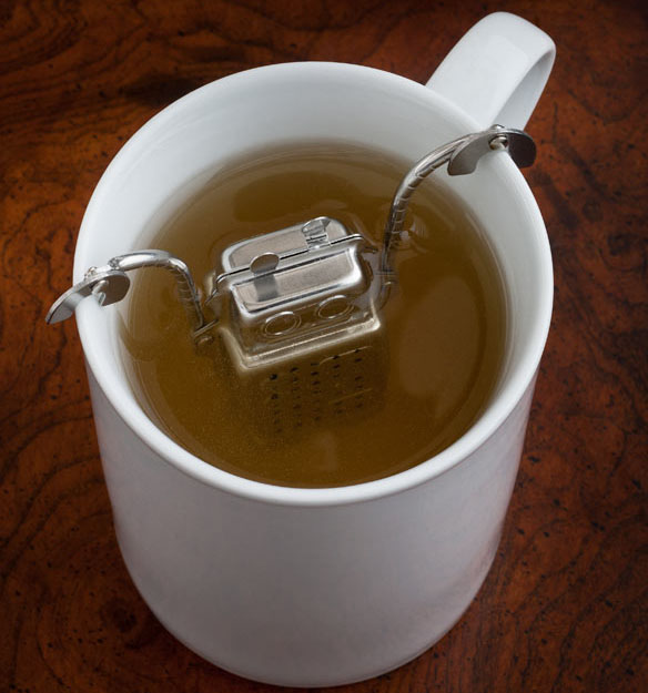 Stainless Steel  Robot Tea Infuser