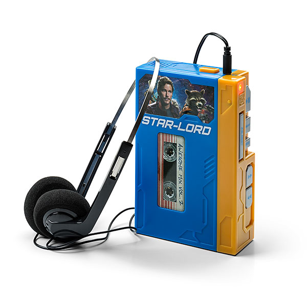 Star Lord's Walkman with Headphones - Retro Recordable Player