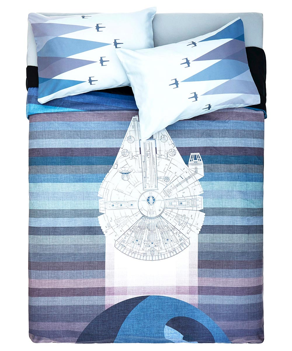 Millennium Falcon Duvet Cover Amp X Wing Pillowcases