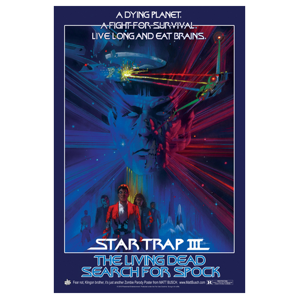 Star Trap III - The Living Dead Search For Spock
