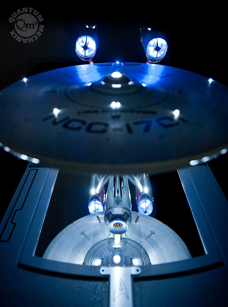 star trek 2009 enterprise artisan replica