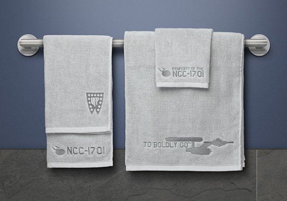 Star Trek 3-Piece Bath Towel Set