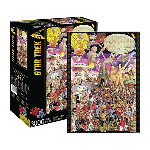 Star Trek 50th Anniversary 3000pc Puzzle