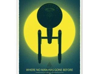 Star Trek 50th Anniversary Art Print