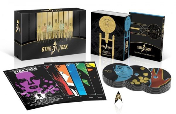 Star Trek 50th Anniversary TV and Movie Blu-ray Collection