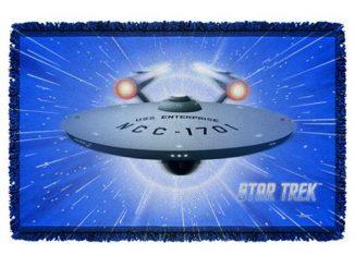 Star Trek All She's Got Woven Tapestry Throw Blanket