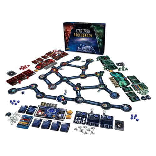 Star Trek Ascendancy Board Game