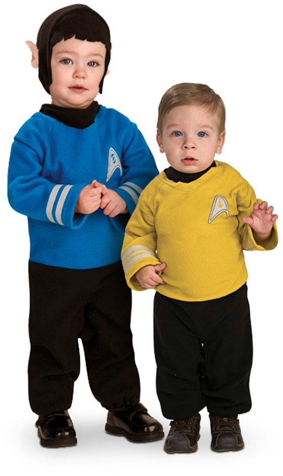 Star Trek Baby Costumes