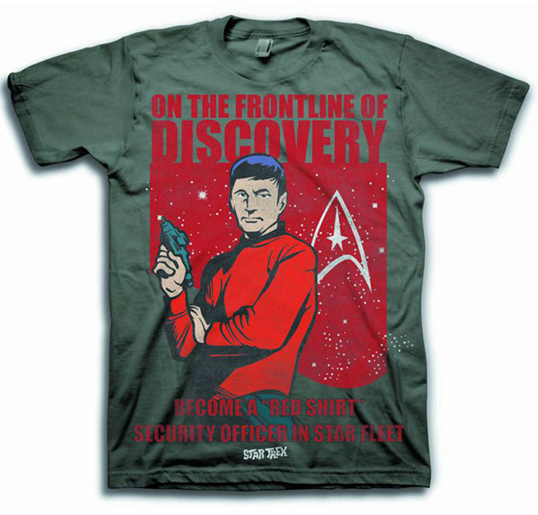 Star Trek Become A Redshirt TShirt